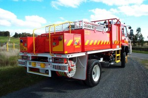 Spamco Fire Truck Water Tank Fabrication